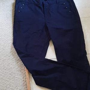 Tommy Hilfiger Cotton straight leg pants